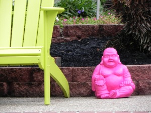 Happy Little Buddha Man