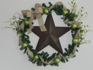 Lonestar Christmas Wreath