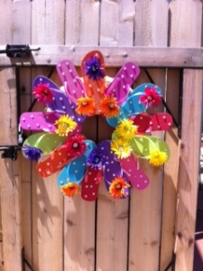 flip flop wreath