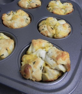Garlic Monkey Bread Minis