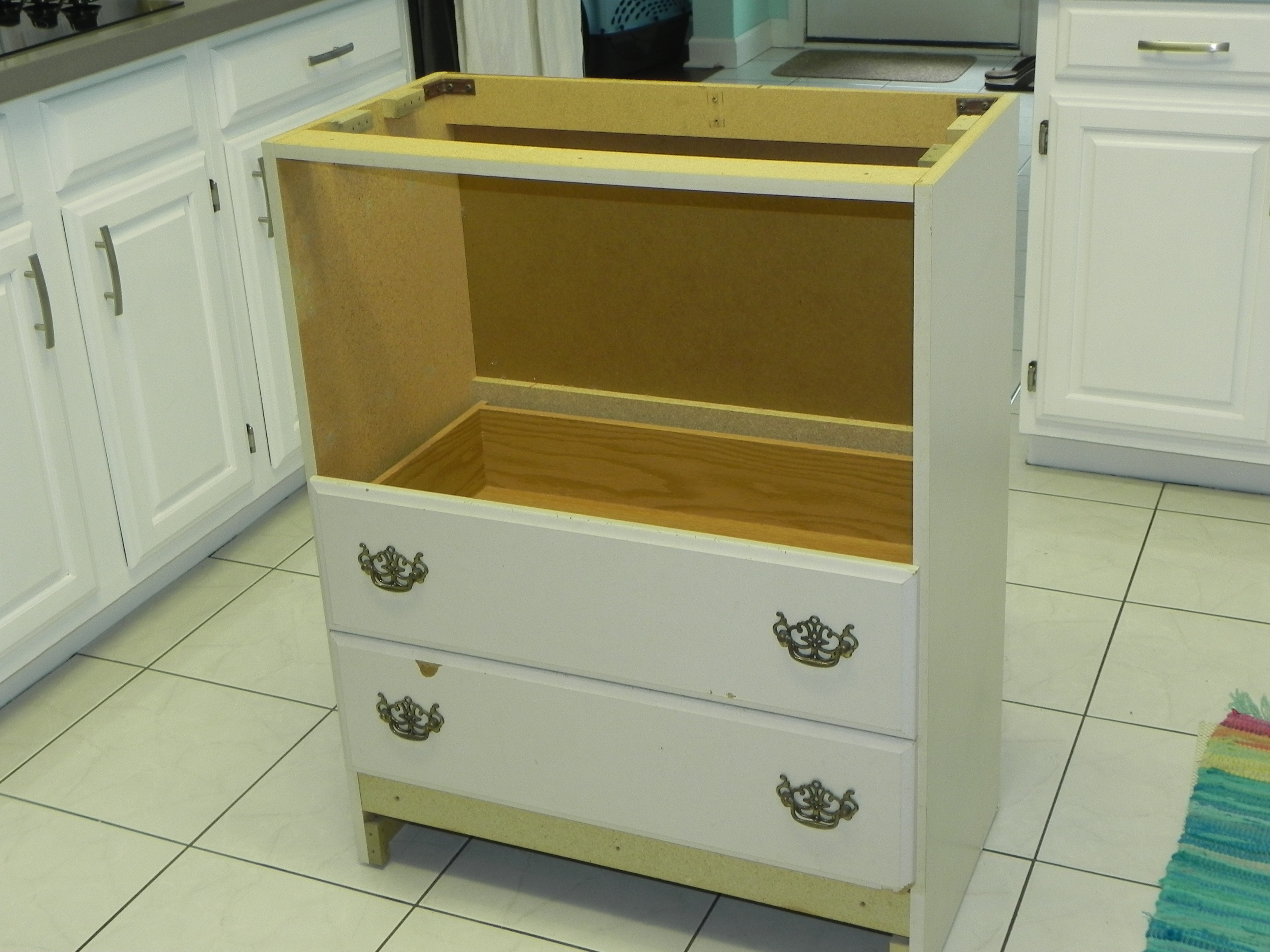 upcycled kitchen island with diet coke in hand kitchen island units second hand kitchen furniture buy